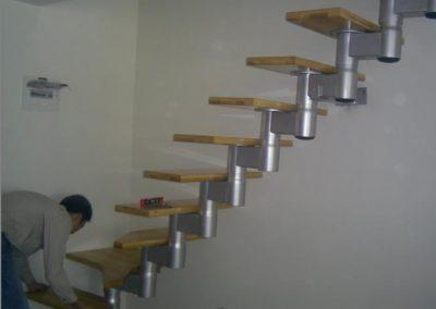escalier disine quart tournant