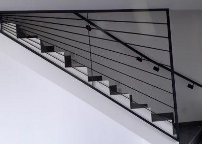 garde corps acier escalier 2