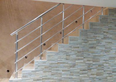 garde corps aluminium escalier interieur