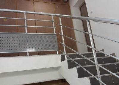 garde corps aluminium escalier interieur nancy