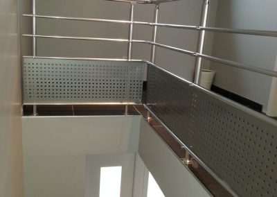 garde corps aluminium tremis escalier interieur nancy
