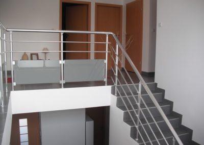 garde corps aluminium tremis escalier verre opal interieur nancy