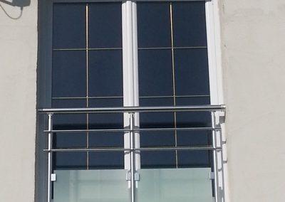garde corps en aluminium porte fenetre