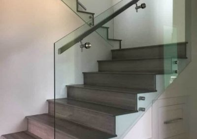 garde corps en verre escalier interieur nancy