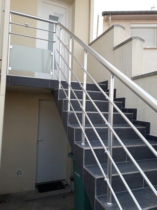 Garde Corps Aluminium Escalier Exterieur